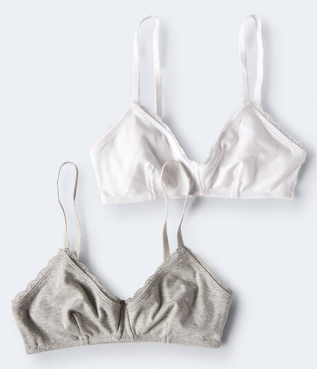 LLD Cotton Bralette 2-Pack