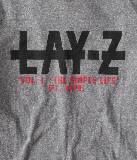 Lay-Z Volume 1 Graphic Tee