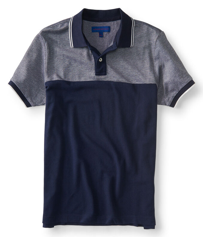 Colorblocked Pique' Polo