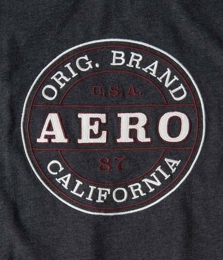 Aero California Circle Graphic Tee