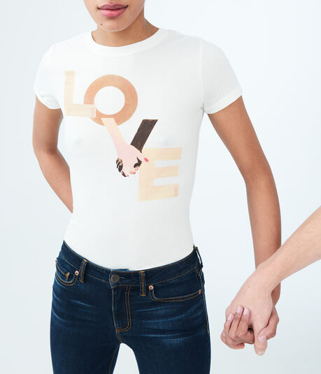 Free State Love Hands Graphic Tee