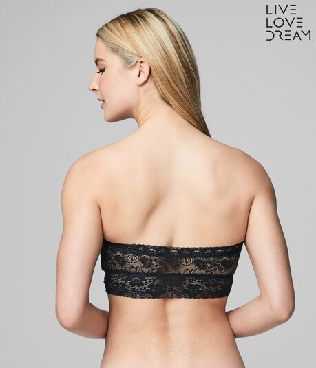 LLD Solid Lace Bandeau