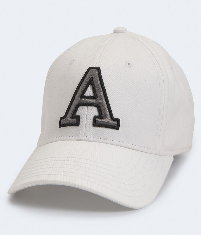 """Embroidered """"A"""" Fitted Hat"""