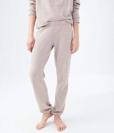 LLD Thunderstorm Fleece Cinch Sleep Pants
