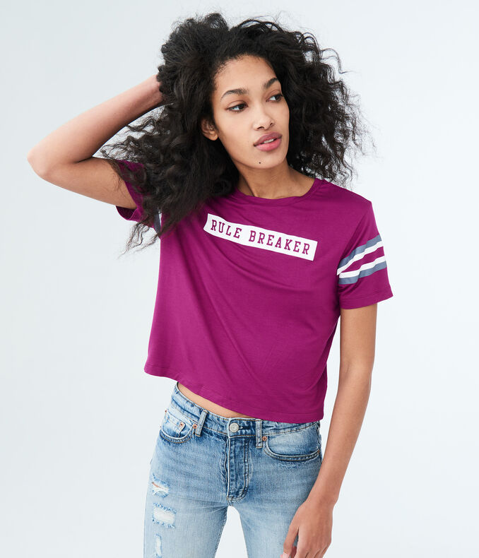 Rule Breaker Football Graphic Tee