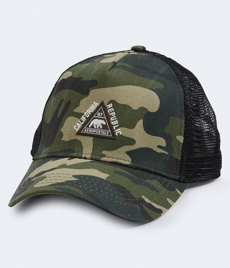 Cali Republic Camo Adjustable Trucker Hat