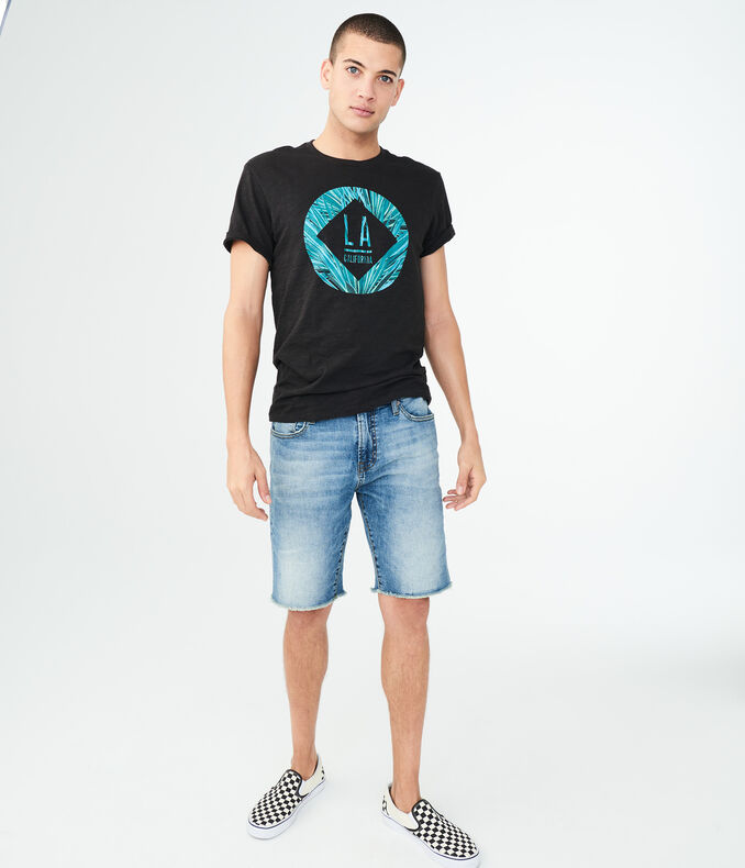 LA Palm Circle Graphic Tee