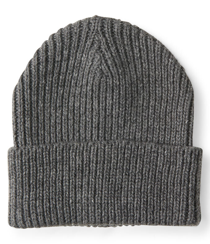 Final Sale -Ribbed Turnback Beanie