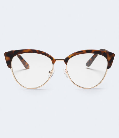 Tortoiseshell Cateye Reader Glasses