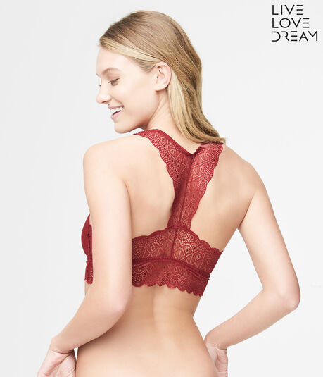 LLD Galloon Lace Racerback Bralette