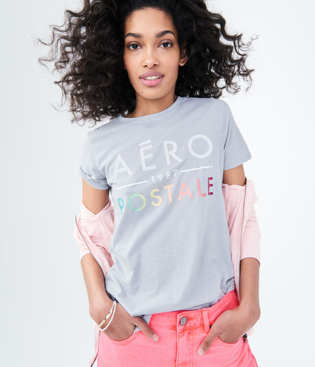 Ombre Logo Relaxed Graphic Tee