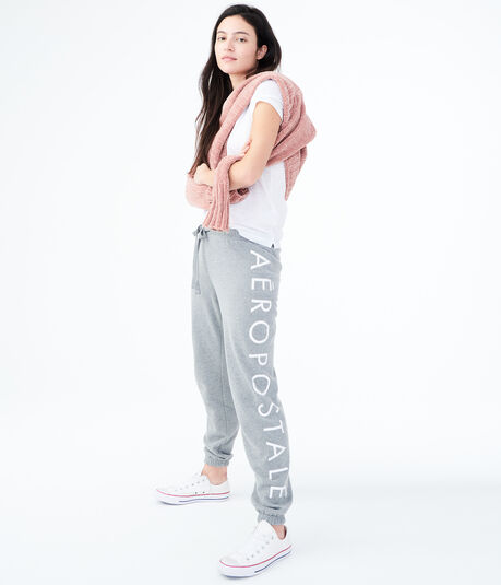 Aeropostale Logo Classic Cinch Sweatpants