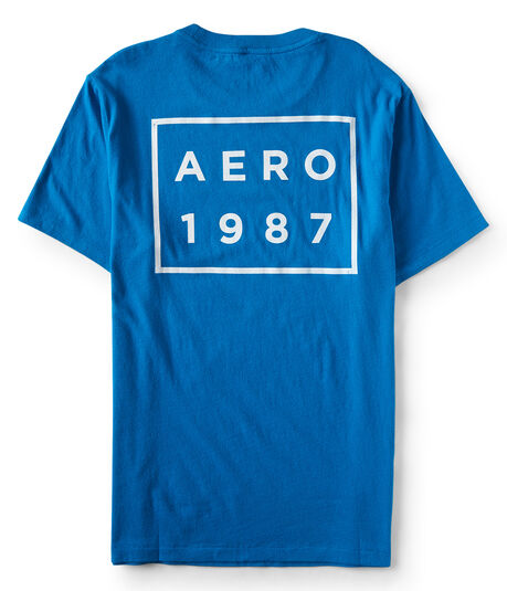 Aero 1987 Box Graphic T