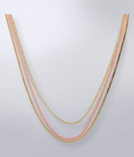 Multi Chain Short-Strand Necklace