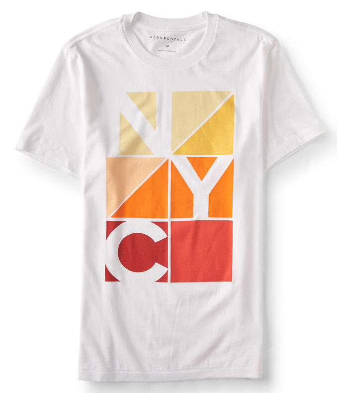 Geometric NYC Graphic T