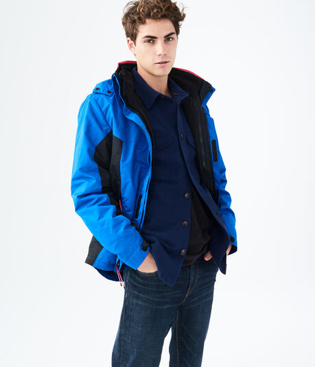 Two-Tone 3-in-1 Jacket
