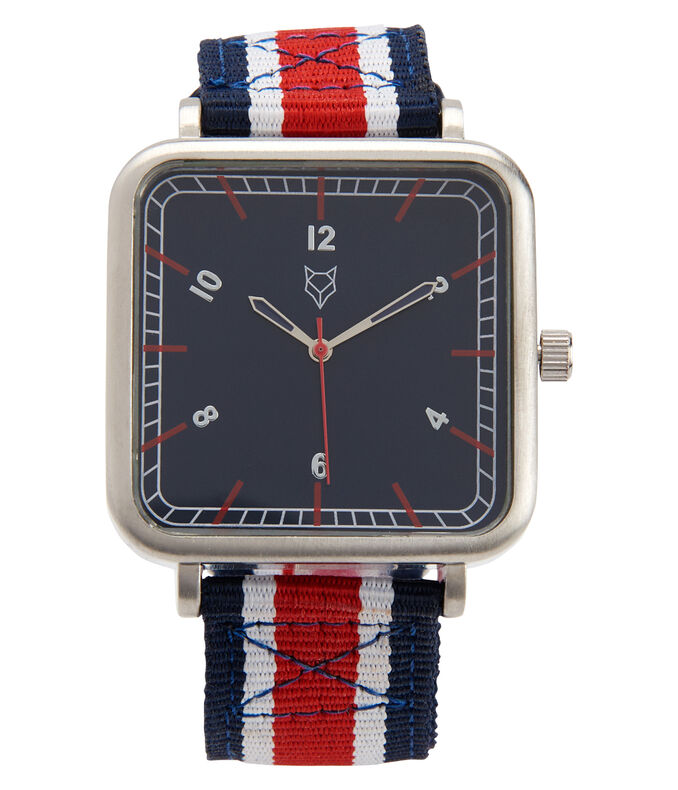 Prince & Fox Americana Canvas Analog Watch