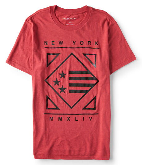 New York Diamond Flag Graphic Tee