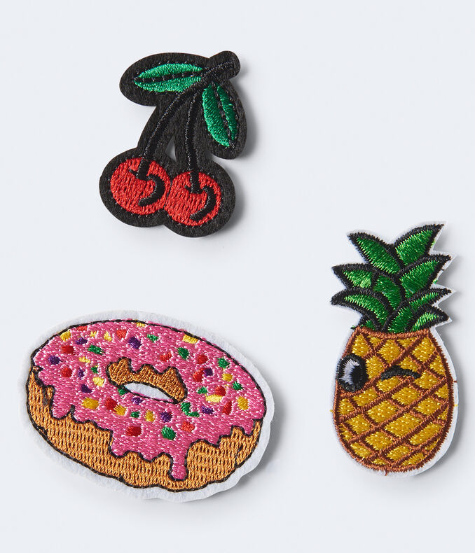 CHERRY DONUT PATCHES