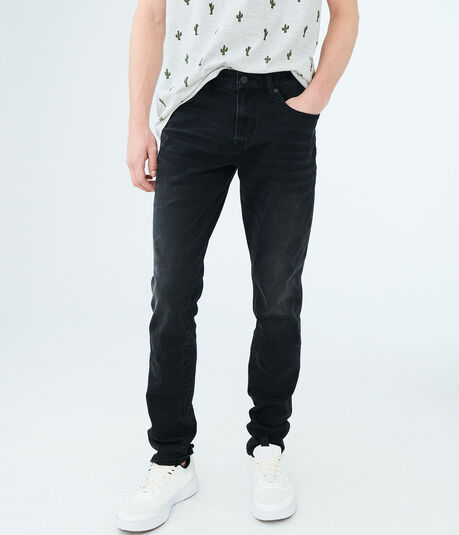 Super Skinny Black Wash Reflex Jean