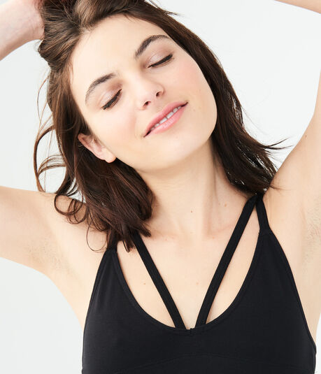 LLD Seamless Strappy-Front Bralette