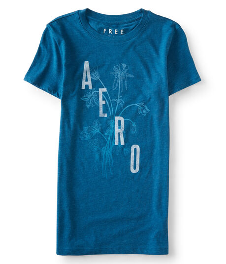 Free State Aero Flower Graphic Tee