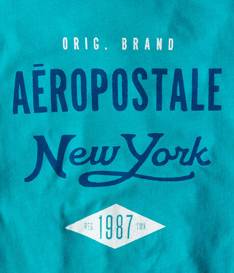 Aero New York Diamond Graphic Tee