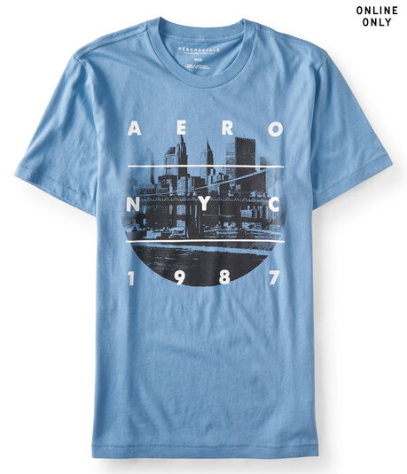 Aero NYC Circle Graphic Tee***