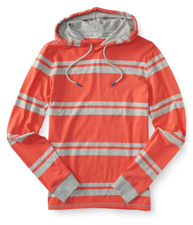 Prince & Fox Striped Hooded Tee