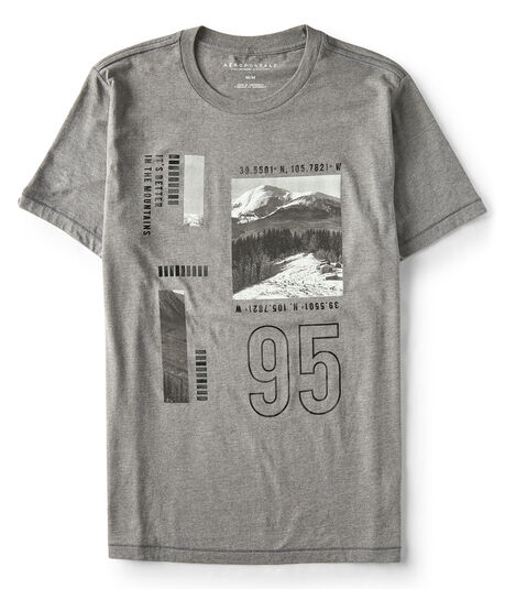 Final Sale- Colorado Coordinates Graphic Tee***