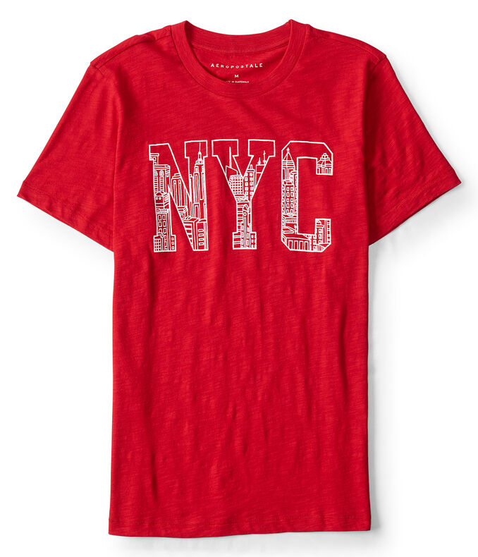 NYC Linear Image Graphic Tee***