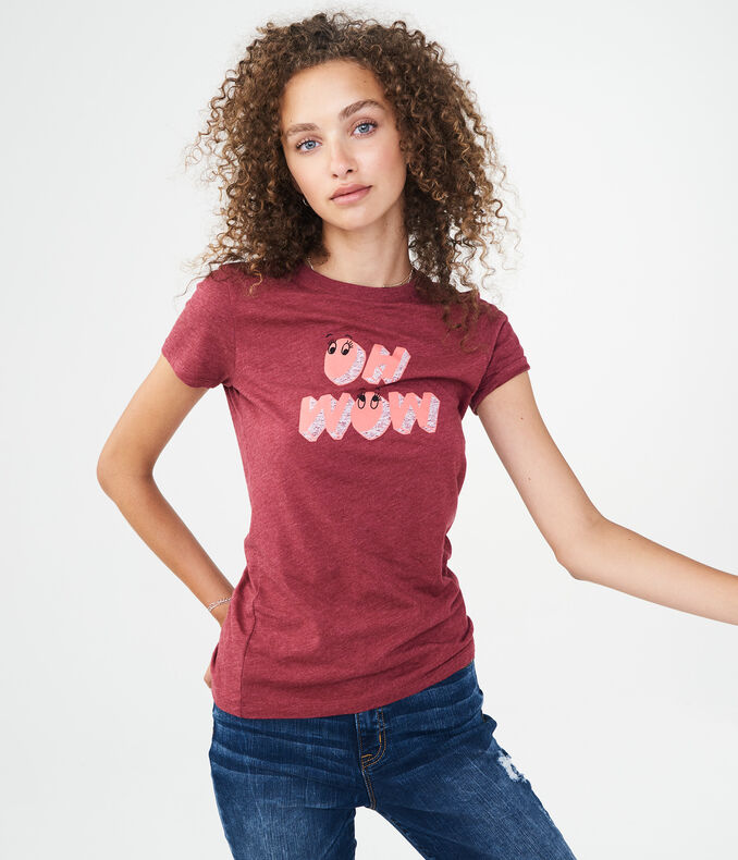 Oh Wow Graphic Tee***