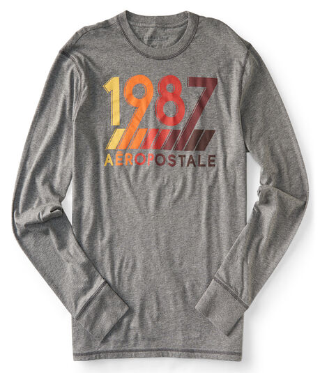 Long Sleeve 1987 Aero Logo Graphic Tee