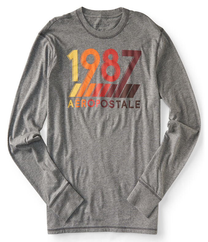 Long Sleeve 1987 Aero Logo Graphic T