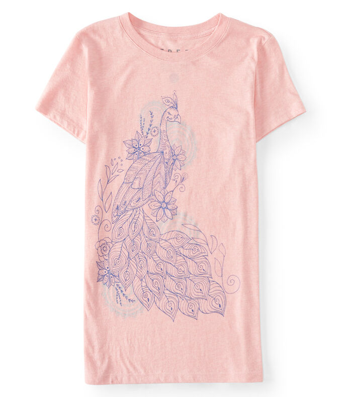 Free State Peacock Graphic Tee