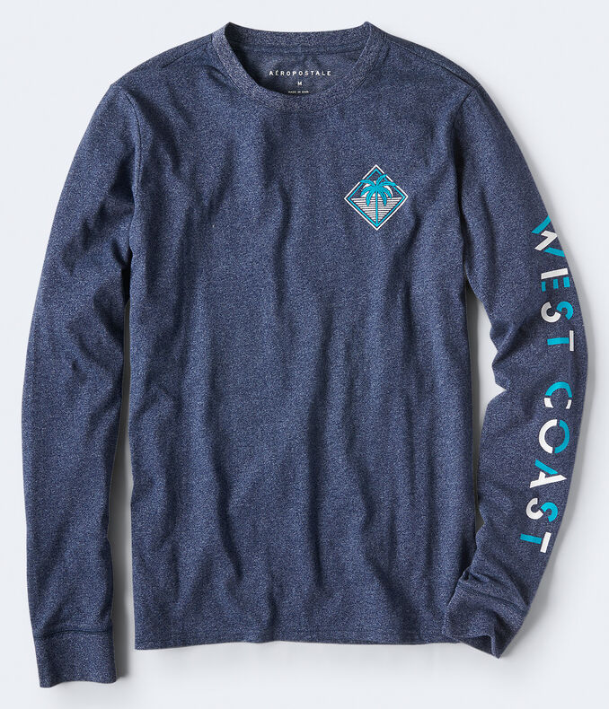 Long Sleeve West Coast Graphic Tee