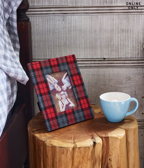 Final Sale -Plaid Frame