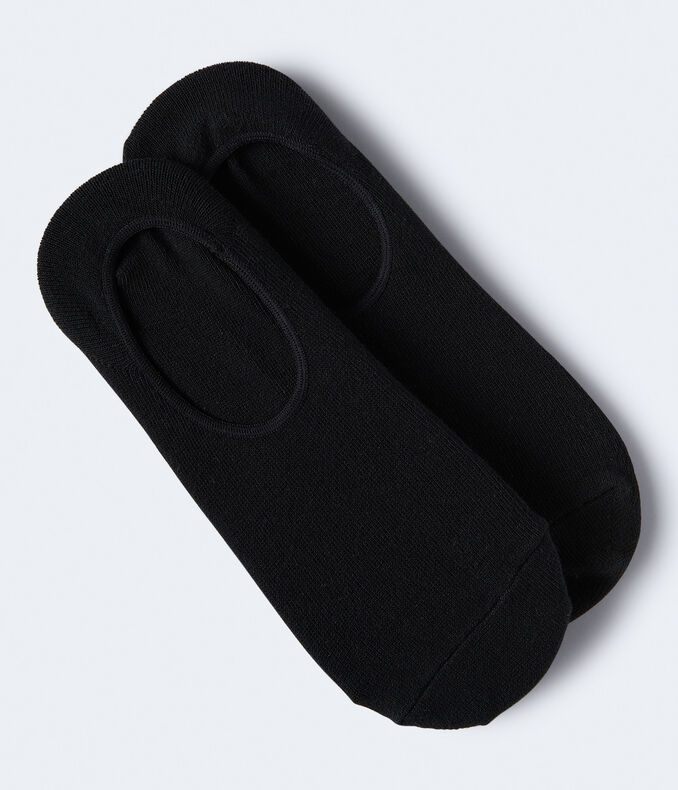 2-Pack Solid No-Show Socks