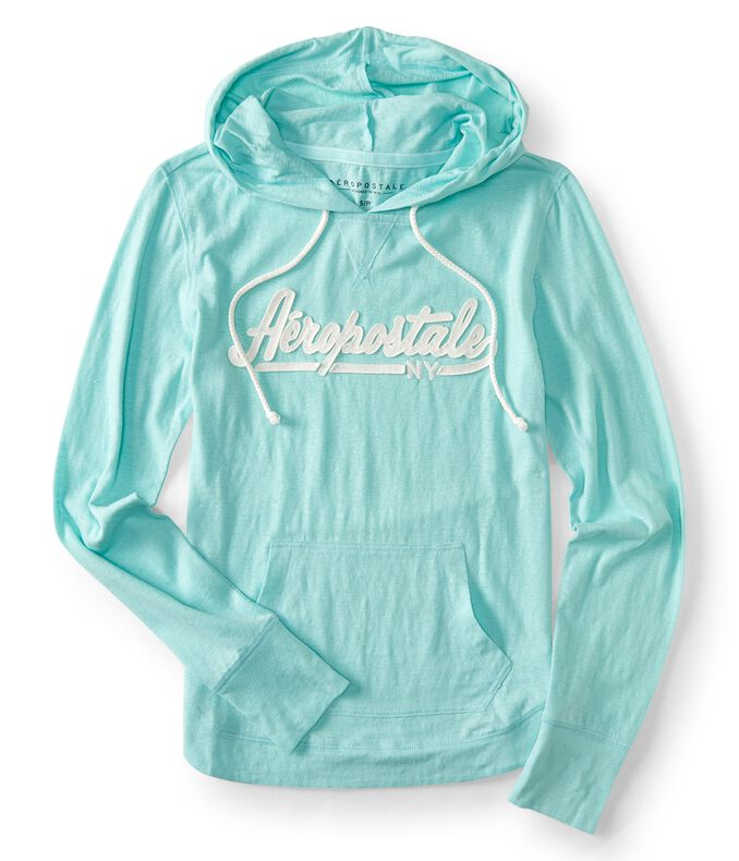 Aéropostale Logo Pullover Hoodie