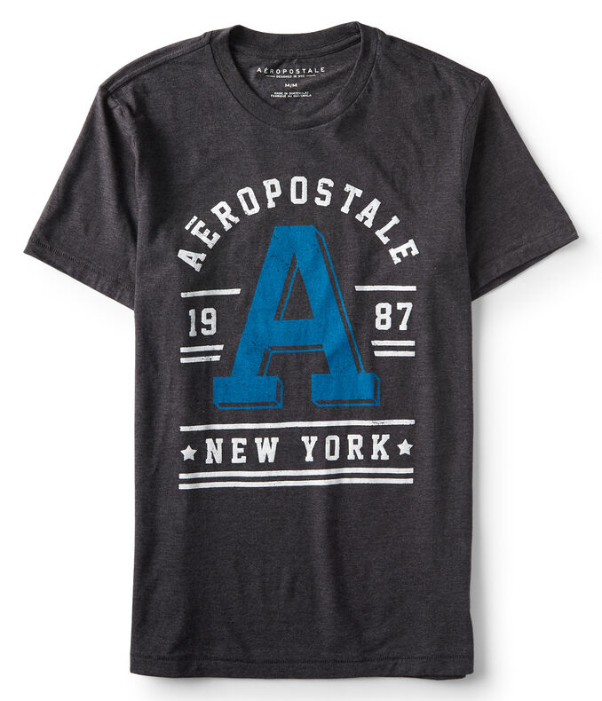 "Aeropostale ""A"" New York Graphic Tee"