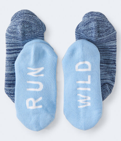 LLD 2-Pack Run Wild Athletic Socks