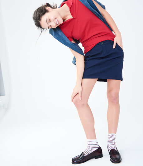 "Pocketed 15"" Uniform Skirt"