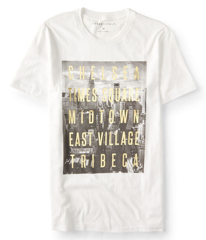 Manhattan Neighborhood Graphic Tee