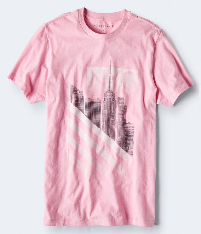 Nyc Stripes Graphic Tee by Aeropostale
