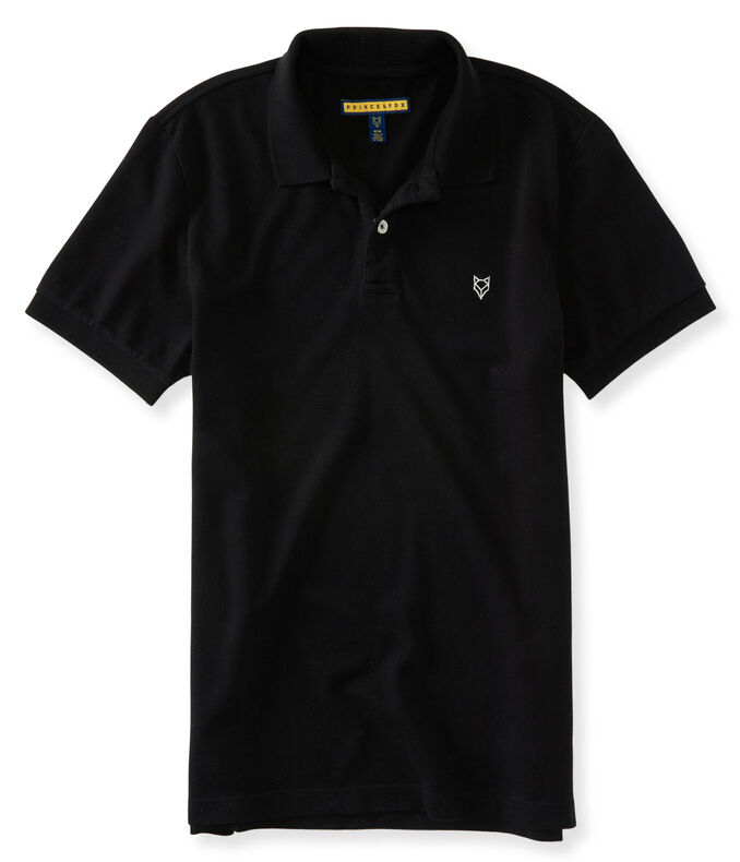 A87 NY Solid Stretch Pique Polo
