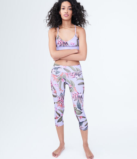 LLD Tropical Crop Leggings