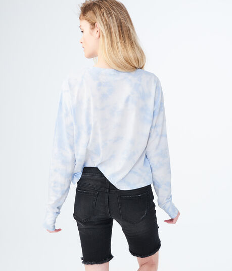 Long Sleeve Struggle City Tie-Dye Graphic Tee