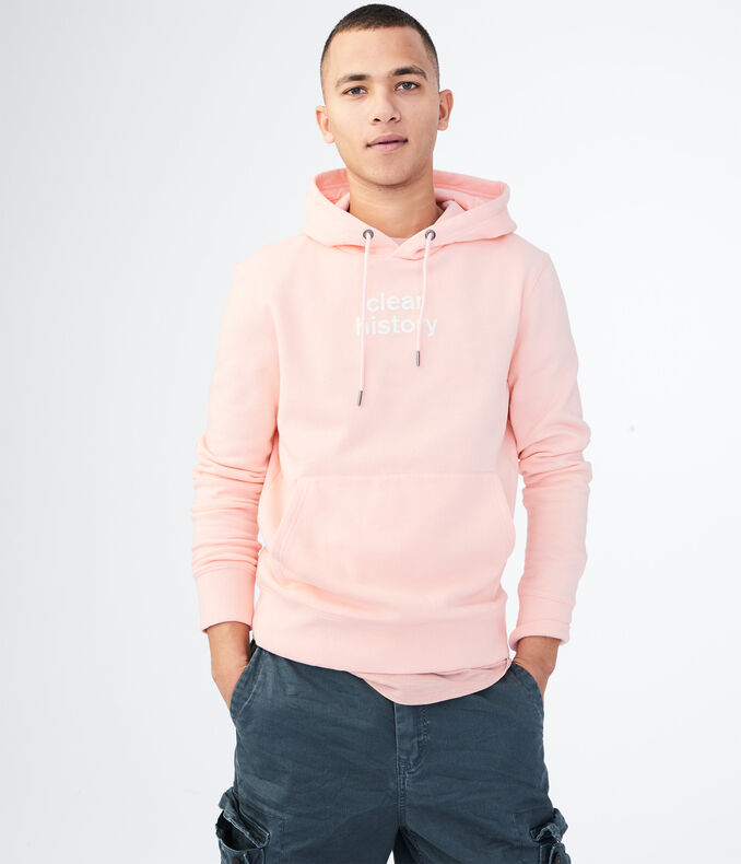 Clear History Pullover Hoodie