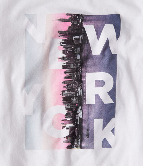 New York Skyline Graphic Tee