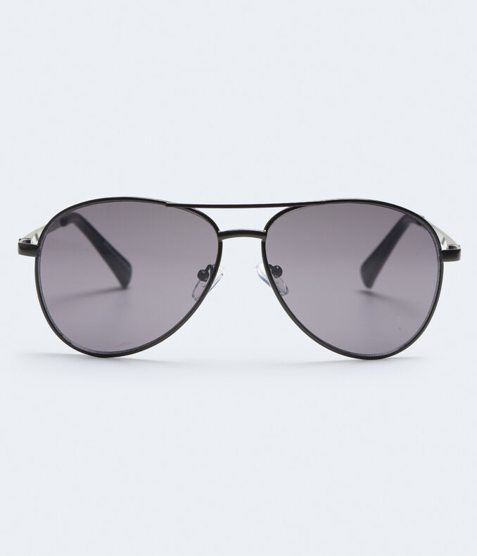 Solid Aviator Sunglasses